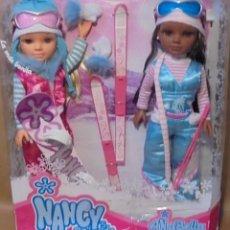 Muñecas Nancy y Lucas: MUÑECA NANCY NEW Y SU AMIGA ANABELLA. Lote 145259010