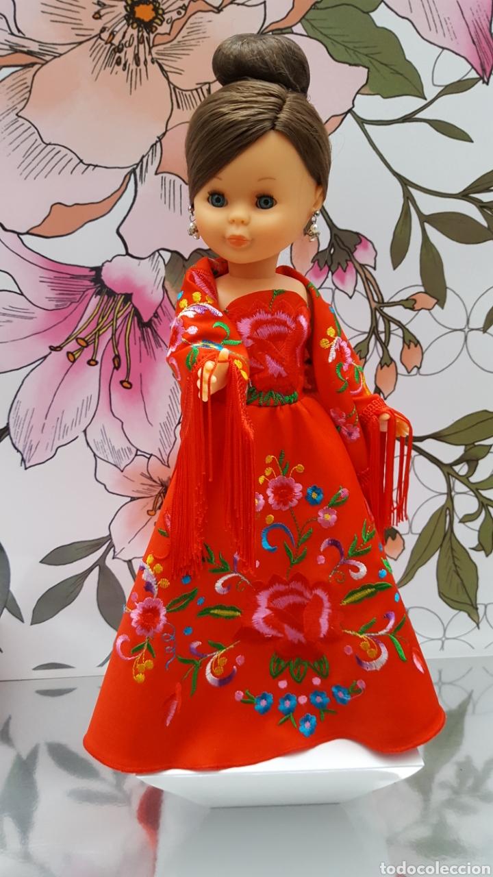 Muñecas Nancy y Lucas: Vestido y mantoncillo para Nancy - Foto 3 - 146762602