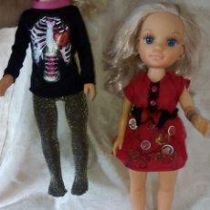 Muñecas Nancy y Lucas: UNA NANCY NEW CON 2 VESTIDOS STRAM GLAM STAR Y EMO GLAM. Lote 147068042