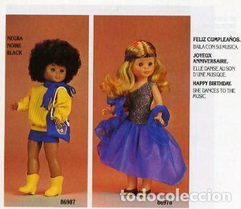 Muñecas Nancy y Lucas: NANCY MULATA DEL 1988 EN CAJA ORIGINAL - Foto 6 - 147696754