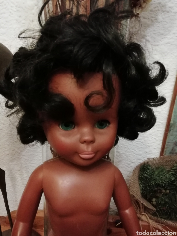 Muñecas Nancy y Lucas: Nancy Famosa negra años 70 - Foto 6 - 148207348