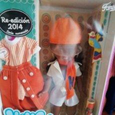 Muñecas Nancy y Lucas: NANCY FAMOSA MINI SHORT NEGRA DESCATALOGADA DE FAMOSA EN CAJA. Lote 148327257