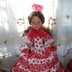 Muñecas Nancy y Lucas: BONITA NANCY TOBILLO GORDO DE LAS PRIMERAS IRIS MARGARITAS MIEL RAROS CASTAÑA IMPLANTADA HA MAQUINA. Lote 148436034