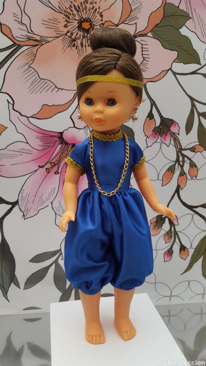 Muñecas Nancy y Lucas: Replica del conjunto hindú en rasete - Foto 2 - 158538037