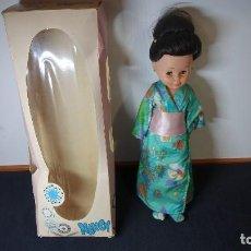 Muñecas Nancy y Lucas: ANTIGUA NANCY GEISHA CON CAJA ORIGINAL. Lote 150753698