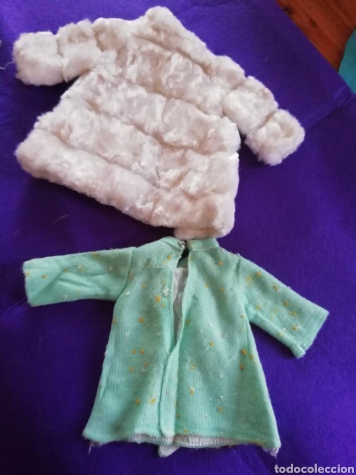 Muñecas Nancy y Lucas: Nancy Famosa vestido de mañana y abrigo visón blanco - Foto 3 - 150961325