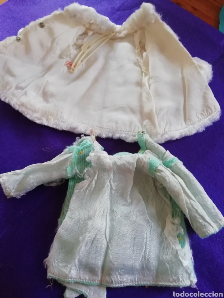 Muñecas Nancy y Lucas: Nancy Famosa vestido de mañana y abrigo visón blanco - Foto 5 - 150961325
