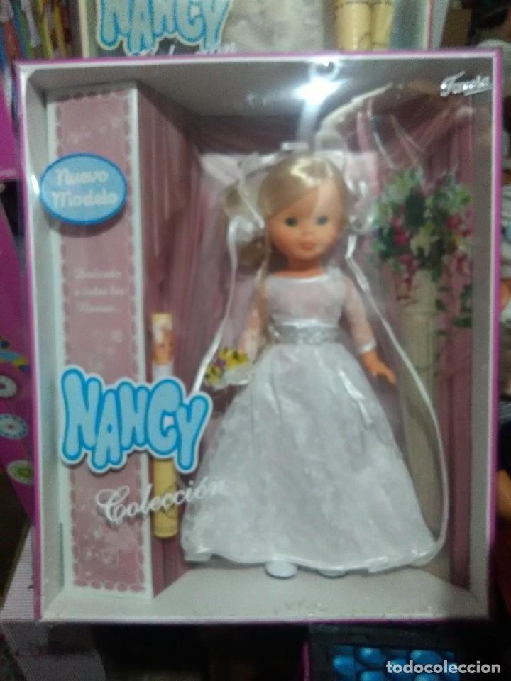 Muñecas Nancy y Lucas: muñeca nancy en caja sin abrir novia - Foto 3 - 152132830