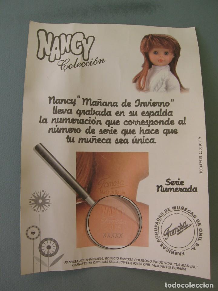 Muñecas Nancy y Lucas: Lote 118469011 CERTIFICADO DE AUTENTICIDAD DE NANCY Coleccion Mañana de Invierno - Foto 3 - 152227334