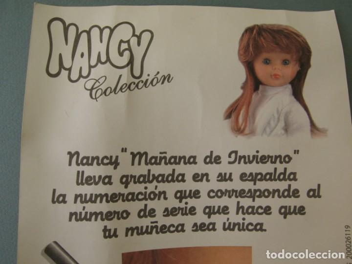 Muñecas Nancy y Lucas: Lote 118469011 CERTIFICADO DE AUTENTICIDAD DE NANCY Coleccion Mañana de Invierno - Foto 4 - 152227334