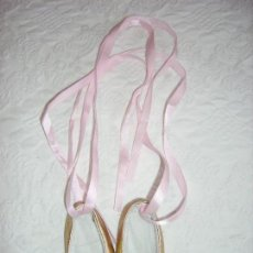 Muñecas Nancy y Lucas: ZAPATILLAS DE BALLET DE NANCY NEW. Lote 152524242