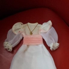 Muñecas Nancy y Lucas: NANCY VESTIDO DE COMUNION ORIGINAL. Lote 153430562