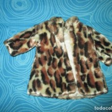 Muñecas Nancy y Lucas: ABRIGO LEOPARDO ORIGINAL NANCY. Lote 153909110