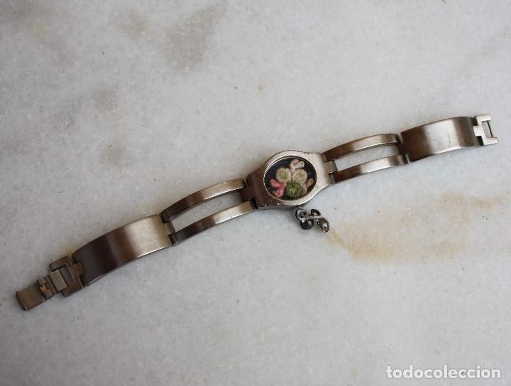 Muñecas Nancy y Lucas: ¡Reloj de acero para tu MUÑECA con flor original! - Foto 2 - 154022498