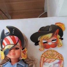 Muñecas Nancy y Lucas: LOTE DE MASCARAS PARA NANCY O SIMILAR. Lote 154038442
