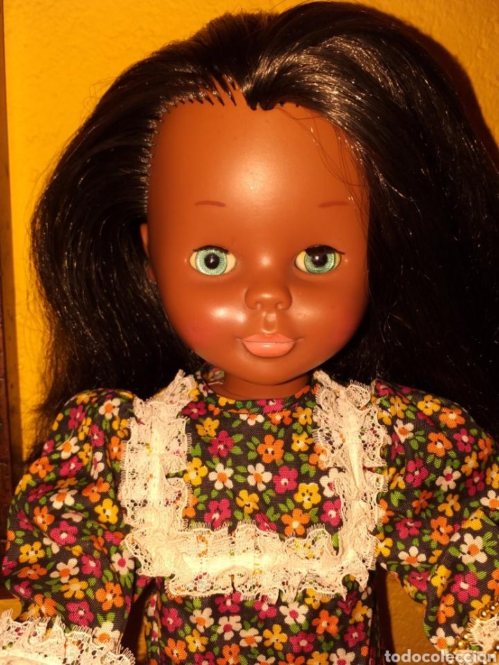 Muñecas Nancy y Lucas: Nancy negra patabollo años 70 - Foto 2 - 154646721