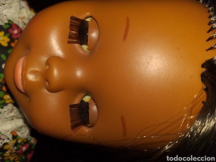 Muñecas Nancy y Lucas: Nancy negra patabollo años 70 - Foto 3 - 154646721