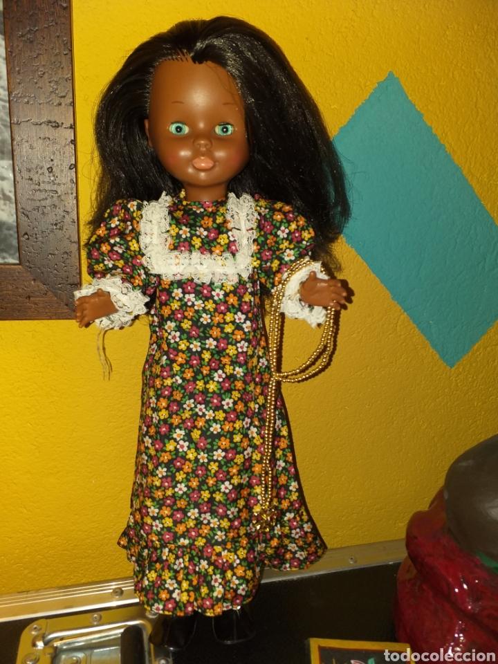 Muñecas Nancy y Lucas: Nancy negra patabollo años 70 - Foto 4 - 154646721