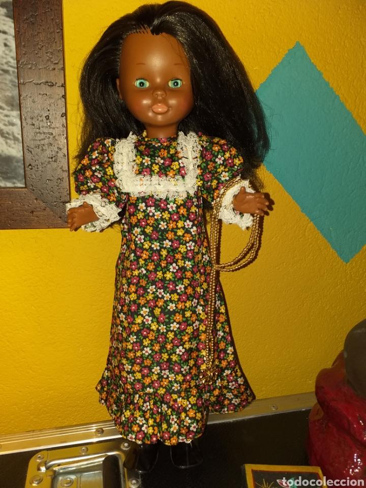 Muñecas Nancy y Lucas: Nancy negra patabollo años 70 - Foto 5 - 154646721