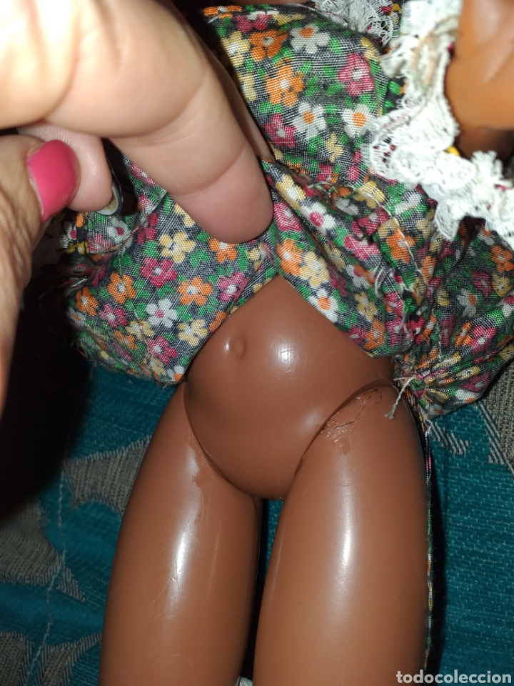 Muñecas Nancy y Lucas: Nancy negra patabollo años 70 - Foto 9 - 154646721