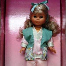 Muñecas Nancy y Lucas: NANCY CON MOCHILA CAMA.¡¡ NUEVA!! EN SU CAJA A ESTRENAR. AÑOS 80.. Lote 154669622