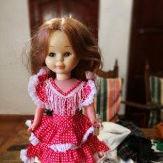 Muñecas Nancy y Lucas: NANCY VESTIDO DE FARALAES.. Lote 155002858