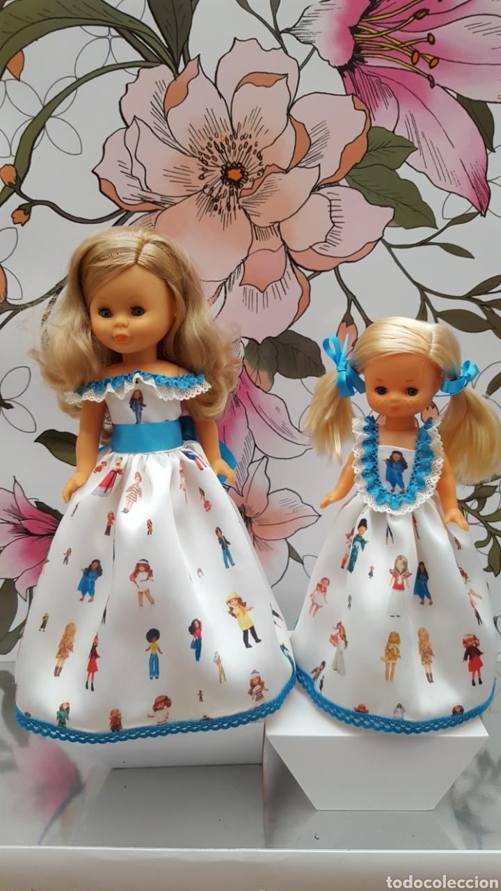 VESTIDO NANCY E LESLY (Juguetes - Muñeca Española Moderna - Nancy y Lucas, Vestidos y Accesorios)