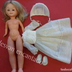 Muñecas Nancy y Lucas: ANTIGUA NANCY DE COMUNION. TOBILLO GORDITO Y BRAZO DURO. Lote 155360934