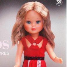 Muñecas Nancy y Lucas: VESTIDO DE ION FIZ PARA NANCY COLECCIÓN. GRANDES DISEÑADORES DE PLANETA. Lote 155401430