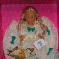 Muñecas Nancy y Lucas: NANCY ROMANTICA DE COLECCION QUIRON NUEVA EN CAJA. Lote 155983906