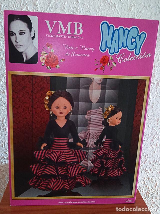 Muñecas Nancy y Lucas: nancy morena de colección vicky martin berrocal nueva sin uso nunca sacada de la caja con su body - Foto 2 - 156307234