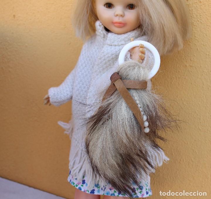 Muñecas Nancy y Lucas: Bolso de cola de zorro con collar original de Nancy - Foto 2 - 156644518