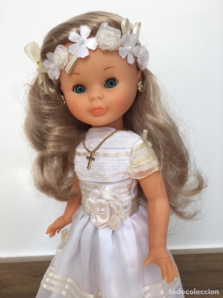 Muñeca Nancy de famosa comunion 2011 reedicion como nueva rubia ceniza segunda mano