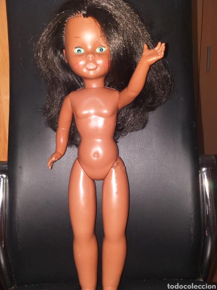 Muñecas Nancy y Lucas: Nancy negra patabollo años 70 - Foto 16 - 154646721