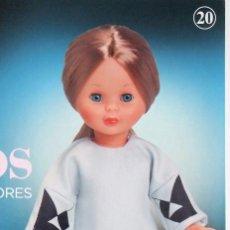 Muñecas Nancy y Lucas: VESTIDO DE DEVOTA & LOMBA PARA NANCY COLECCIÓN. GRANDES DISEÑADORES DE PLANETA. Lote 157941586