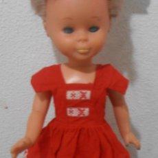 Muñecas Nancy y Lucas: VESTIDO ROJO AÑOS 70, POSIBLEMENTE DE NANCY. Lote 158957946