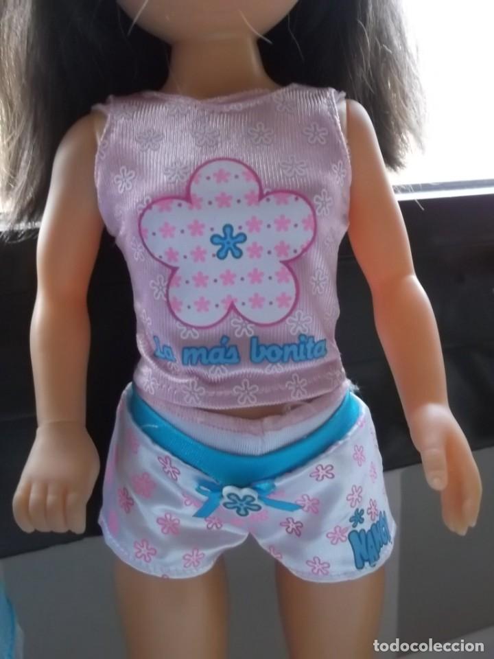 Muñecas Nancy y Lucas: Lote Nancy noche, camison, almohada, pijama, zapatillas, antifaz - Foto 5 - 159483294