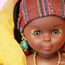Muñecas Nancy y Lucas: NANCY AFRICA DE FAMOSA, COLECCION QUIRON - NUEVA Y EN SU CAJA ORIGINAL - NUNCA JUGADA - AFRICANA. Lote 159515654