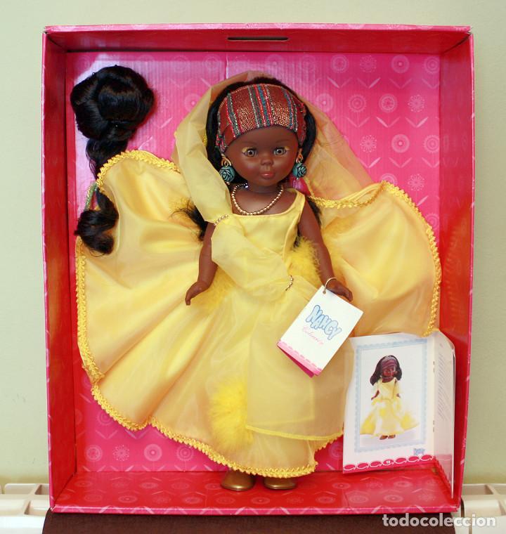 Muñecas Nancy y Lucas: NANCY AFRICA DE FAMOSA, COLECCION QUIRON - NUEVA Y EN SU CAJA ORIGINAL - NUNCA JUGADA - AFRICANA - Foto 2 - 159515654