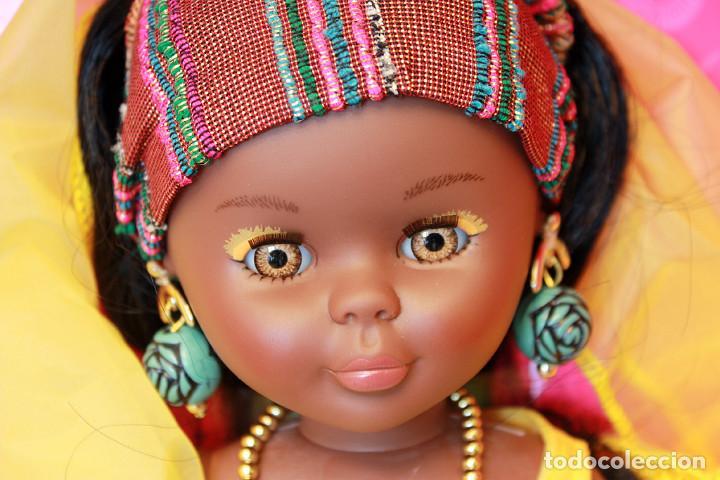 Muñecas Nancy y Lucas: NANCY AFRICA DE FAMOSA, COLECCION QUIRON - NUEVA Y EN SU CAJA ORIGINAL - NUNCA JUGADA - AFRICANA - Foto 5 - 159515654