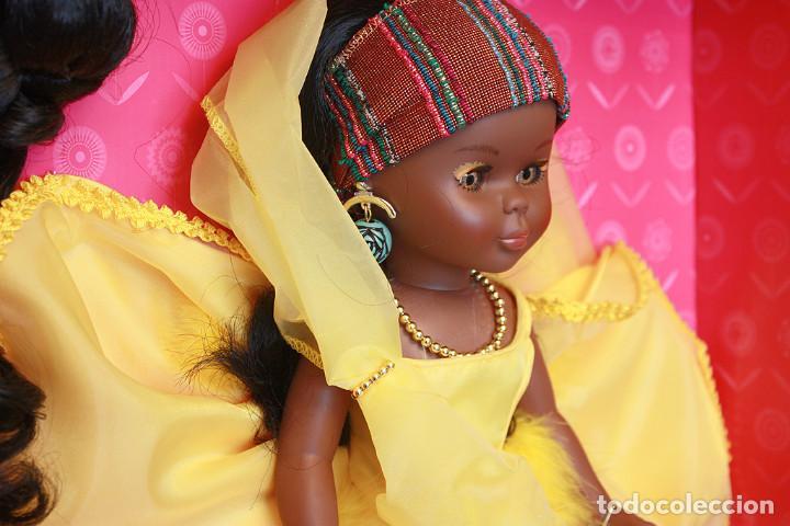 Muñecas Nancy y Lucas: NANCY AFRICA DE FAMOSA, COLECCION QUIRON - NUEVA Y EN SU CAJA ORIGINAL - NUNCA JUGADA - AFRICANA - Foto 11 - 159515654