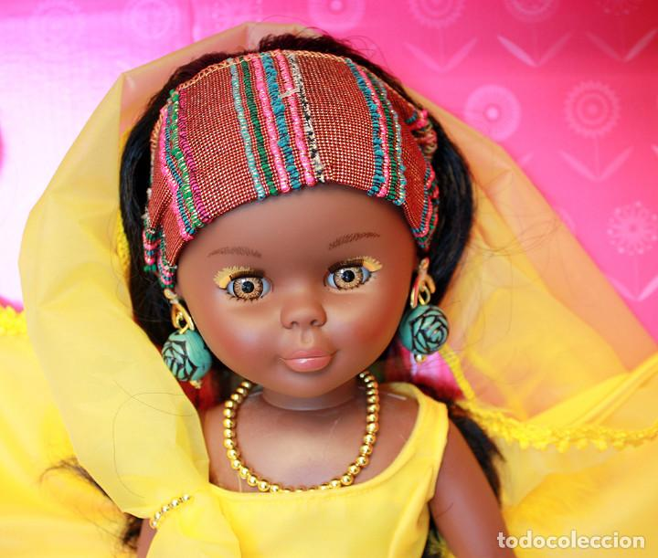 Muñecas Nancy y Lucas: NANCY AFRICA DE FAMOSA, COLECCION QUIRON - NUEVA Y EN SU CAJA ORIGINAL - NUNCA JUGADA - AFRICANA - Foto 22 - 159515654