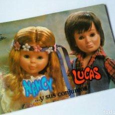 Muñecas Nancy y Lucas: CATÁLOGO NANCY. Lote 159971024