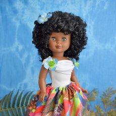 Muñecas Nancy y Lucas: NANCY DE FAMOSA. MULATA CARIBE. NEGRITA OOAK CUSTOM.. Lote 160501978