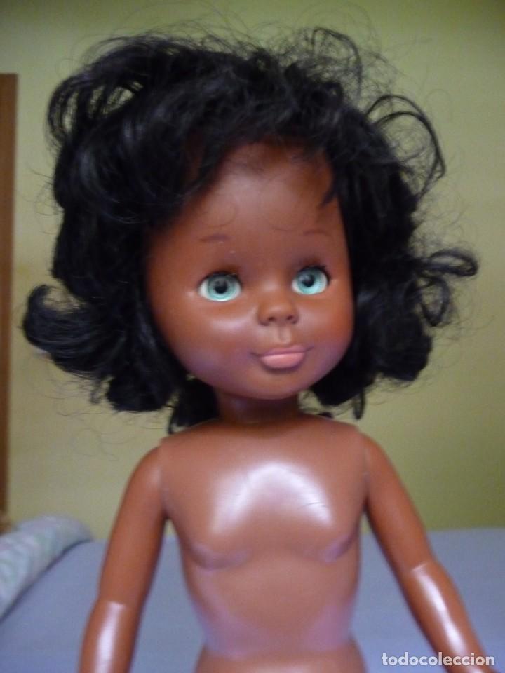Muñecas Nancy y Lucas: Muñeca nancy famosa negrita pie de lesly negra cubana de los años 70 ojos azul verdoso margarita - Foto 4 - 160636622