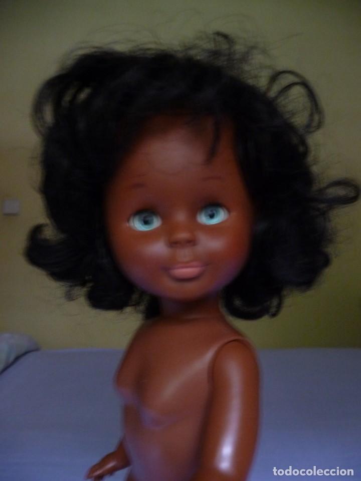 Muñecas Nancy y Lucas: Muñeca nancy famosa negrita pie de lesly negra cubana de los años 70 ojos azul verdoso margarita - Foto 9 - 160636622