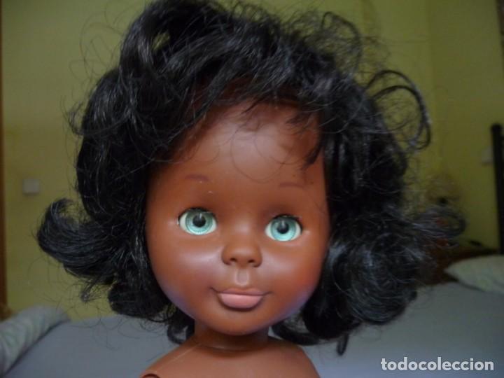 Muñecas Nancy y Lucas: Muñeca nancy famosa negrita pie de lesly negra cubana de los años 70 ojos azul verdoso margarita - Foto 11 - 160636622