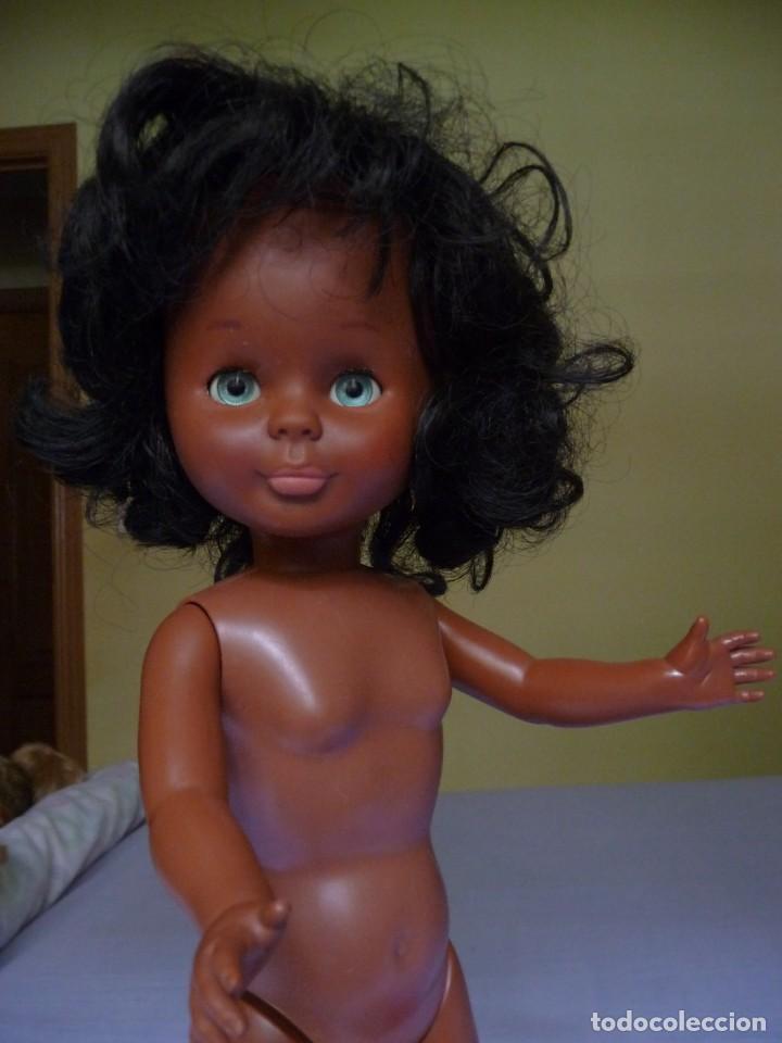 Muñecas Nancy y Lucas: Muñeca nancy famosa negrita pie de lesly negra cubana de los años 70 ojos azul verdoso margarita - Foto 13 - 160636622