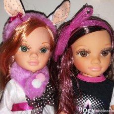 Muñecas Nancy y Lucas: LOTE 2 MUÑECA NANCY NEW DE FAMOSA ARCO IRIS Y ROCK STAR DESCATALOGADAS. Lote 161370206