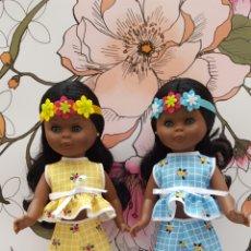 Muñecas Nancy y Lucas: RÉPLICA EN EL JARDÍN. EL AMARILLO. Lote 178032040